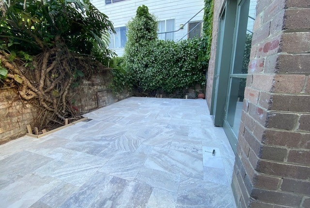 Outdoor paving in Annandale