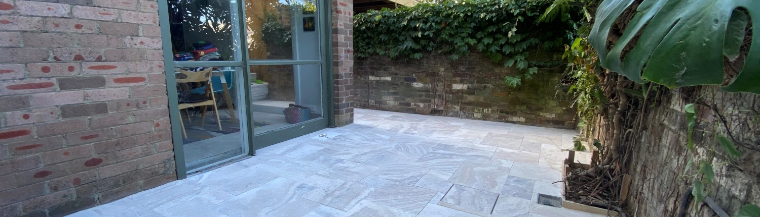 Stone paving in Annandale