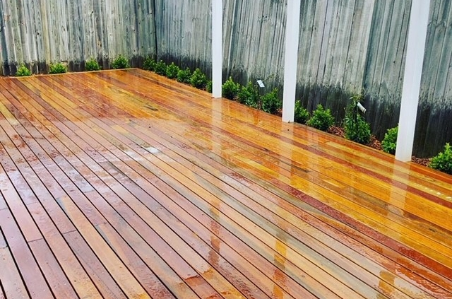 Deck, Pergola and garden beds in Concord