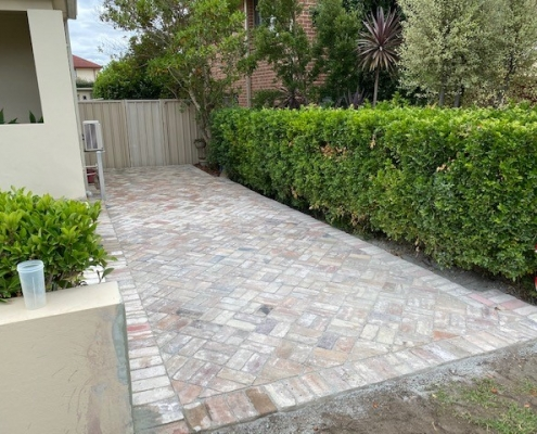 Paving and landscaping in the Inner West