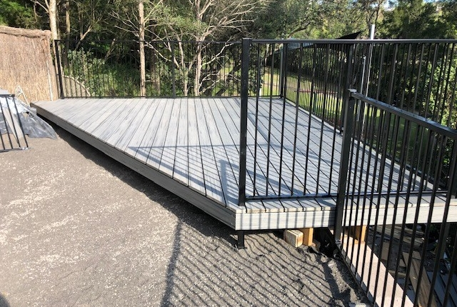 Wood decking in the Eastern Suburbs