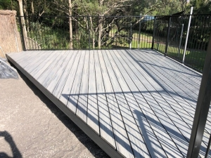 Timber decking in the Eastern Suburbs