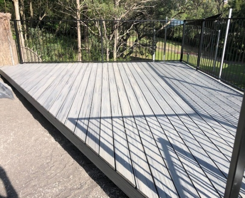 Composite deck in Edgecliff
