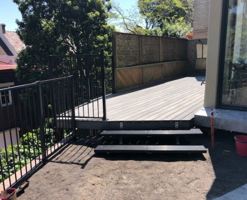 Metal Fencing in Edgecliff