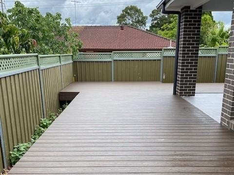 Greystanes timber Decking