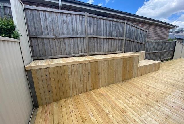 Outdoor deck in Kellyville